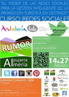 Curso Redes Sociales. Rumor Alpujarra Almería.