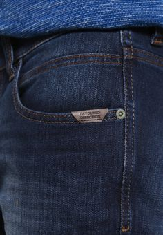 camel active HOUSTON - Straight leg jeans - dark blue demin - Zalando.co.uk