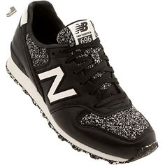 New Balance x Bergdorfs Women WL696BGB (black / gray speckles) - New balance sneakers for women (*Amazon Partner-Link)