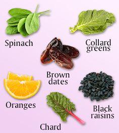 list of high calcium foods and their calcium content