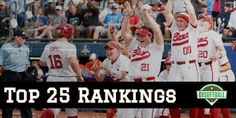 A new era is here with the launch of and Alabama comes in at No. 1 in the inaugural Top 25 Rankings. Softball Equipment, Fastpitch Softball, Alabama, Product Launch, Baseball Cards, Sports, Tops, Hs Sports, Excercise