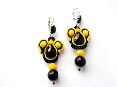 Black and yellow by Vinc e Vala on Etsy