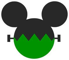 Personalized Frankenstein Mickey Mouse DIY Iron on Decal. $7.00, via Etsy.