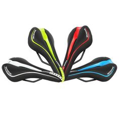 Cheap bicycle saddle, Buy Quality cycling saddle directly from China saddle seat Suppliers: WOSAWE Mountain Road Bicycle Seat Racing MTB Bike Parts Cycle Racer Ride Cycling Saddle Seat Hollow Soft Cushion Bicycle Saddle Bicycle Seats, Bicycle Components, Cool Bicycles, Mtb Bike, Bike Parts, Road Racing, Sports Equipment, Go Shopping, Cycling