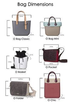Fullspot bag dimensions – o designs usa women s accessories amzn to My Bags, Tote Bags, Purses And Bags, Leather Bags Handmade, Leather Craft, O Bag Classic, O Bag Mini, Women's Accessories, Leather Makeup Bag