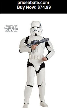 Men-Costumes: Stormtrooper Costume Adult Star Wars Halloween Fancy Dress - BUY IT NOW ONLY $74.99