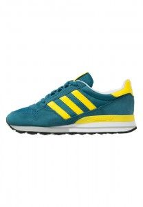 buy popular 43139 6d113 Find out original Adidas Originals Zx 500 Og Surf Petrol Yellow White  Womens Trainers Shoes outlet UK online store