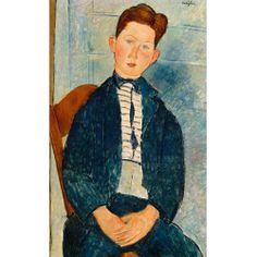 Boy in a Striped Sweater - Fedkolor