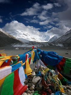 Mt Everest - would love to climb to base camp just to see this.