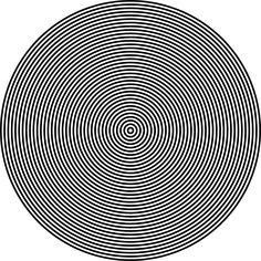 Hypnosis Circles Concentrical transparent image