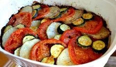 Parmesan Veggie Roast for a healthy entree or side dish.