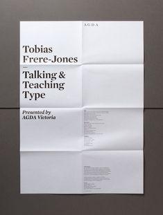 Hofstede Design + Development #design #typography #minimal #poster #layout #folded