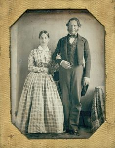 Mr. and Mrs. Henri Pierre Chouteau. (1850s) Missouri History Museum
