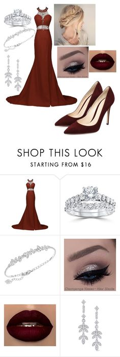 """""""Untitled #221"""" by bihesteves ❤ liked on Polyvore featuring Bliss Diamond, Swarovski, MANU and KC Designs"""
