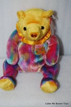 Ty Beanie Babies November Pastel Birthday Bear Retired acce23c5c889
