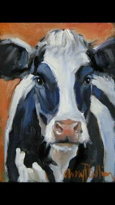 """This makes me think of my show cow named """"Woodmont Starman Patricia"""", her registered name. """"Lenny"""" - oil painting by Amy P. Cow Painting, Painting & Drawing, Family Painting, Cow Pictures, Farm Art, Cow Art, Animal Paintings, Paintings Of Cows, Painting Inspiration"""