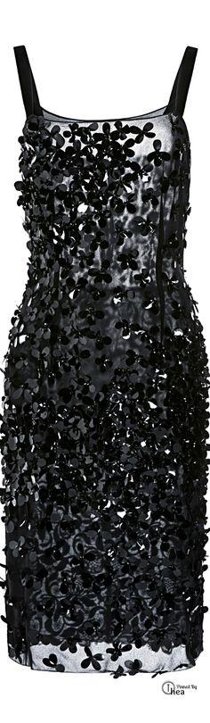 Nina Ricci » Sequined Dress #dress #kneelength #sheer #chiffon #lace #straps #sequins #beaded #20s #flapper #ricci