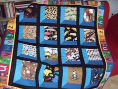 """""""I Spy From Attic Window"""" Quilt 