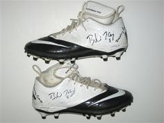 Brendon Kay Pittsburgh Steelers Rookie Training Camp Worn & Signed Nike Cleats