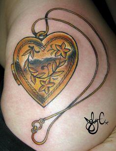 locket tattoo - Google Search