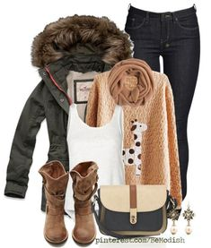 Cute Casual Winter Outfit 2014