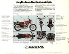 Honda CB350F Specs ad