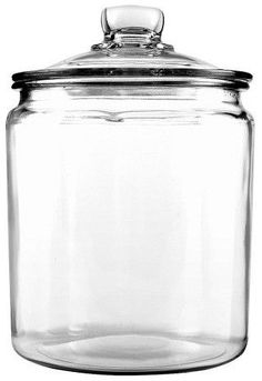 Anchor Heritage Glass Jar, 1 gallon.  Perfect for organizing pantry supplies, in the pantry or on the counter! #kitchen #organized #organizedhome #organizedkitchen #pantry #jar #affiliate