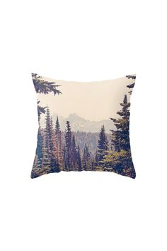 Obsessed | Cabin Love | Forrest Pillow Society 6 | @saltandwind | http://saltandwind.com