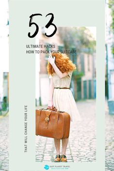 How to Pack a Suitcase: The 53 Ultimate Hacks - Easy Planet Travel Solo Travel Tips, Packing List For Travel, Cruise Travel, Packing Tips, Travel Advice, Vacation Packing, Travel Stuff, Travel Gifts, Travel Hacks