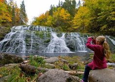 Looking for waterfalls to explore? You are in the right place! Here are 28 Nova Scotia waterfalls for your next adventure. Waterfalls are abundant here in Nova Scotia. Exploring them will take you fro East Coast Travel, East Coast Road Trip, Places To Travel, Places To See, Travel Stuff, East Coast Canada, Nova Scotia Travel, Acadie, Canadian Travel