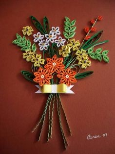 Fall bouquet - Quilled Creations Quilling Gallery