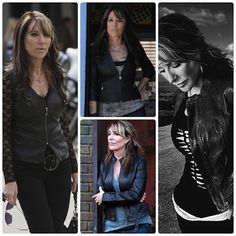 Gemma leather jacket Dress Like Your Television: Gemma Teller Morrow on Sons of Anarchy