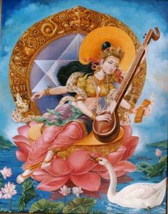 Saraswathi by Dinesh Shrestha