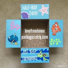 Nemo Half Way There Care Package Flaps by LoveFromHomePackages
