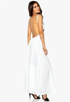 Make Way Sarae Dress White Bubbleroom.eu// Great shop!