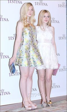 Elle Fanning e Dakota Fanning Ellie Fanning, Fanning Sisters, Dakota And Elle Fanning, Elle Moda, Mini Robes, Girl Inspiration, Beautiful Celebrities, Indian Beauty, Sexy Legs