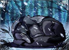 Cold Wolf by *DJ88 on deviantART