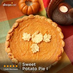"""I boiled sweet potatoes, added flour, and got frozen premade pie crust. It was yummy!) """"People who have eaten sweet potato pie all their lives say this recipe is the best they have ever tasted. Holiday Desserts, Just Desserts, Holiday Recipes, Delicious Desserts, Yummy Food, Pie Dessert, Dessert Recipes, Scones, Fudge"""