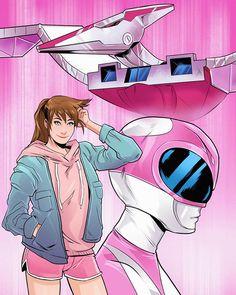 Saban's Power Rangers, Mighty Morphin Power Rangers, Dc Comics Art, Marvel Dc Comics, Green Ranger, Live Action, Comic Art, Pop Culture, Concept Art