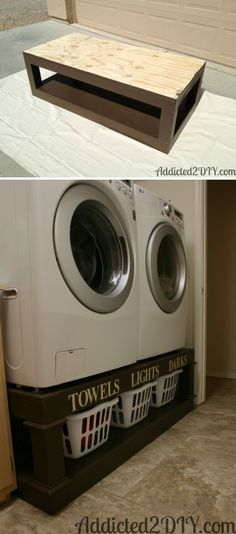 Laundry Pedestal Organizer