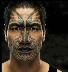 Maori tattoo.