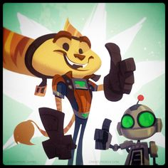 Ratchet and Clank Launch Day by CreatureBox.deviantart.com on @DeviantArt