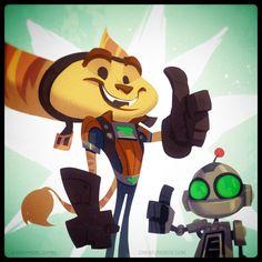 Ratchet and Clank Launch Day by CreatureBox.deviantart.com on @DeviantArt