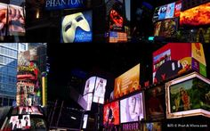 For New Yorkers like my Twin, signs and billboards probably blend into the everyday cityscape. Looking Up, Billboard, Times Square, Nyc, Signs, Poster Wall, Shop Signs, New York, Sign