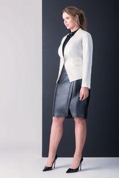 Studio Faux Leather Wrap Skirt   Women's Plus Size Fashion   ELOQUII