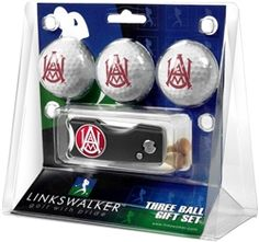 Alabama A&M Bulldogs Spring Action Divot Tool & 3 Ball Gift Pack.  Buy it @ ReadyGolf.com