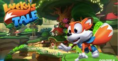 """Oculus just announced that a copy of Lucky's Tale is include with every new purchase of the Rift, their flagship virtual reality headset. When asked why Oculus included the game with Rift, Palmer Luckey states, """"We always Oculus Vr, Words With Friends, Virtual Reality Headset, Indie Games, New Technology, Free Games, Bowser, Product Launch, Instagram Posts"""