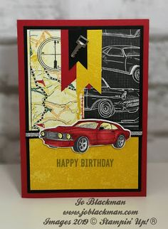 Jo-Jo's Crafty Blog: SDBH February Blog Hop - Birthday... 50th Birthday Cards, Masculine Birthday Cards, Handmade Birthday Cards, Masculine Cards, Birthday Sayings, Male Birthday, 50th Birthday Cakes For Men, 70th Birthday Gifts, Happy Birthday Images