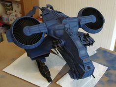 Pre-Heresy Stormbird Build Space Marines Wargaming Warhammer 40k