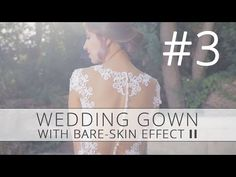 How to make your own Wedding Dress DIY Part 3 - YouTube